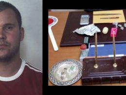 Melilli| Cocaina all'interno della propria cassetta postale.  Arrestato per detenzione e spaccio di droga