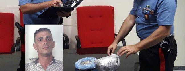 Siracusa| Trasportava mezzo chilo di marijuana: Arrestato dai carabinieri