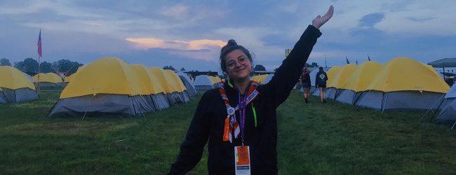 Augusta| Arianna Pedone torna dal raduno mondiale di scout carica di emozioni<span class='video_title_tag'> -Video</span>