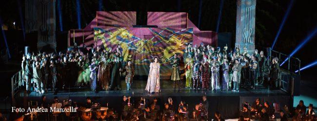 Siracusa| Grande successo per la Turandot di Marcello Giordani al Teatro Greco
