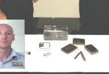 Siracusa| 1 chilo e mezzo di droga nascosta in camera da letto: Arrestato dai carabinieri