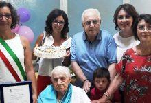 Lentini | Cento candeline per Sebastiana Tornello, l'abbraccio dei familiari e degli amici