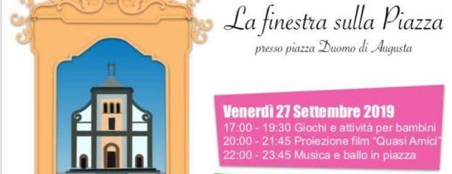 Augusta| Volontari in festa- La finestra sulla piazza, 12 associazioni in piazza Duomo