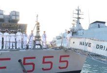 Augusta| Ultimo ammaina bandiera ieri per le corvette Driade e Chimera