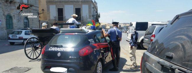 Noto| Controllo del territorio: Un arresto e quattro denunce