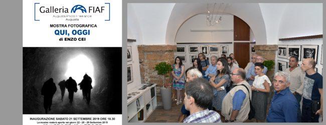 Augusta| Enzo Cei alla Galleria Fiaf di Apf nella la sala G. Maddaleni di Ronco Rossi 12