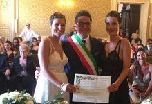 Augusta| Giorgia e Damiana hanno detto sì. Celebrata unione civile nel Municipio