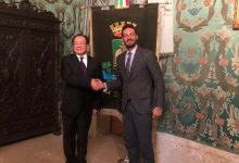 Siracusa| Una delegazione cinese a Palazzo Vermexio