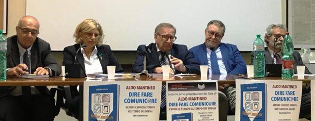 """Roma   """"DireFareComunic@re"""", il manuale di Aldo Mantineo per capire il mondo degli uffici stampa"""