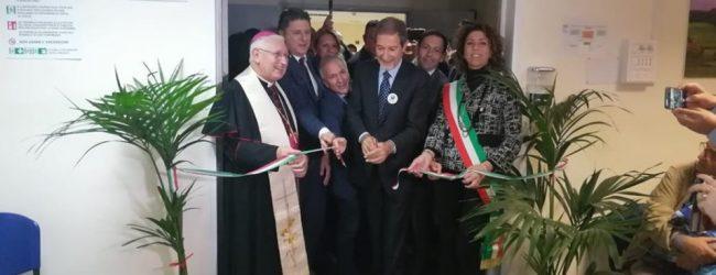 Augusta| Inaugurato il Centro amianto al Muscatello dal governatore Musumeci