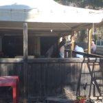 Siracusa| Demolizione bar del parcheggio Molo Sant'Antonio