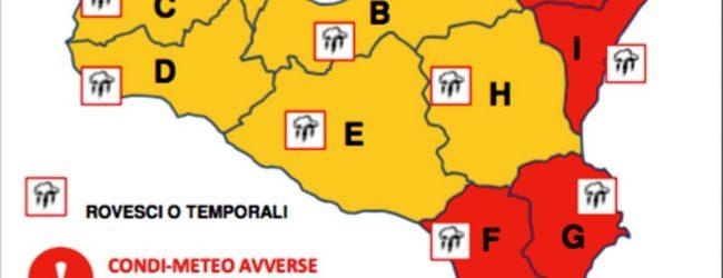 Lentini Carlentini Francofonte: domani scuole chiuse per allerta meteo rossa