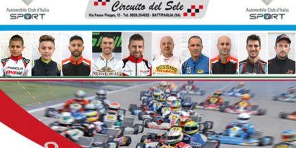 Sicilia| I migliori piloti del kart allo start di Battipaglia