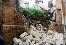 Lentini | Crolla un vecchio edificio abbandonato nel quartiere San Paolo<span class='video_title_tag'> -Video</span>