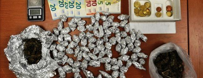Lentini | Cento dosi di marijuana in casa, diciannovenne ai domiciliari