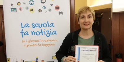 Augusta   La scuola fa notizia: il Ruiz premiato a Roma dall'agenzia di stampa Dire