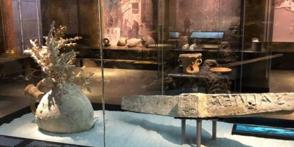 Palermo  La Soprintendenza del Mare con i suoi reperti alla mostra in Danimarca dedicata a Pompei ed Ercolano