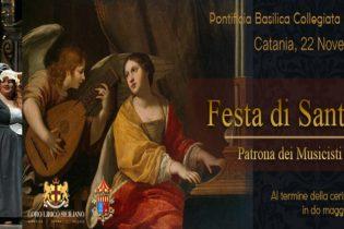 Catania  La Festa di Santa Cecilia promossa dal Coro Lirico Siciliano