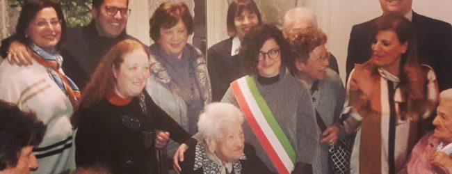 Augusta| Tanti auguri a zia Lucietta che ha festeggiato i suoi 100 anni