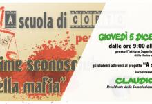 Siracusa| A corto di Legalità, incontro con Claudio Fava