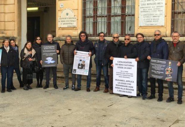 Palermo| Vertenza catalogatori della Regione, il silenzio del presidente Musumeci