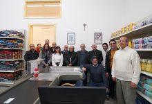 Siracusa| Monsignor Salvatore Pappalardo inaugura l'Emporio della solidarietà