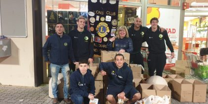 Siracusa| Colletta alimentare: Partecipazione dell'Ortigia, Lions e Ortigia Accademy