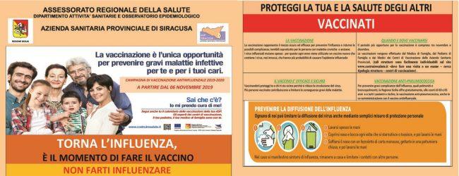 Siracusa| Influ-Day, giornata regionale per la vaccinazione antinfluenzale