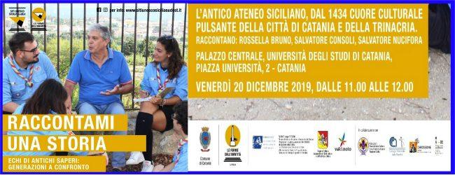 Catania| Raccontami una storia. Appuntamento aperto al pubblico