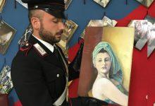 Rosolini| Furto quadro d'autore, recuperato il dipinto dai carabinieri