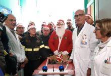 Siracusa| Pompieri donano giocattoli ai bambini della Pediatria