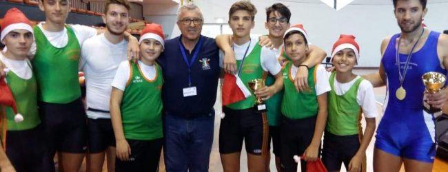 Augusta| Gabriele Maci e Sebastiano Galoforo conquistano il titolo siciliano indoor