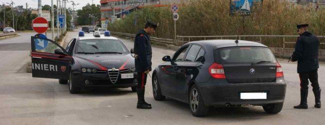Augusta| Carabinieri: denunce per guida sotto i fumi dell'alcol uso di droghe