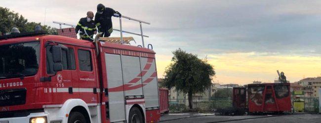 Lentini | Materassi in fiamme all'ecopunto, individuato e denunciato il responsabile