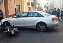 Carlentini | Scontro auto-scooter in pieno centro, ferito un giovane di Lentini