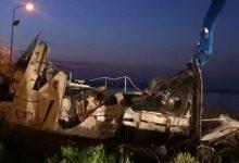 Siracusa| Bonifica: Distrutta e rimossa la motovedetta del Molo S.Antonio