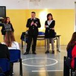 Priolo Gargallo| I carabinieri discutono di Legalita' con gli studenti del Danilo Dolci