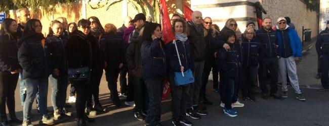 Augusta| Sit -in pulizieri della Marina contro l'aumento del lavoro con lo stesso salario