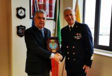 Augusta| Il generale Emilio Errigo in visita alla Capitaneria di porto