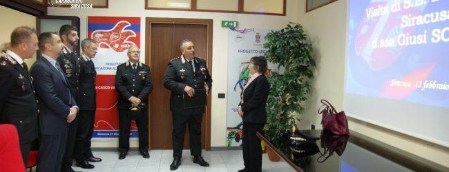 Siracusa| Visita del Prefetto Scaduto al Comando provinciale Carabinieri
