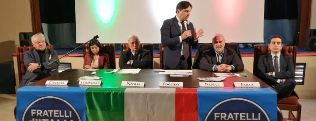 Augusta| FdI: il sindaco di Catania Pogliese lancia la candidatura di Pietro Forestiere