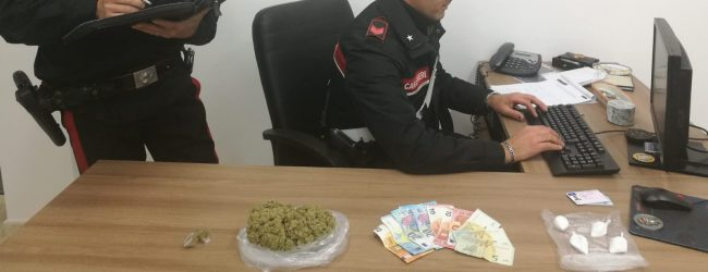 Augusta| Spaccio di droga nel centro abitato: arrestati due uomini dai Carabinieri