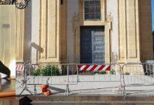Augusta| Sagrato chiesa Madre: Dopo 4 mesi, ancora pericolo e transenne