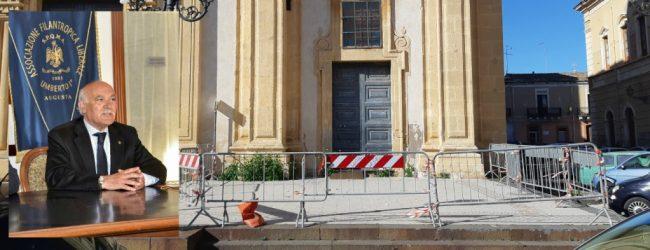 Augusta  Sagrato chiesa Madre: Dopo 4 mesi, ancora pericolo e transenne