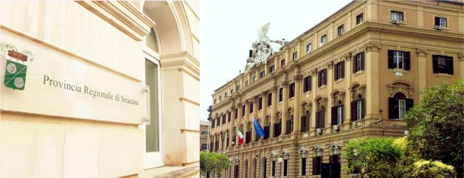 Siracusa| Crisi finanziaria ex Province, mercoledì e giovedì riunione con i vertici a Roma