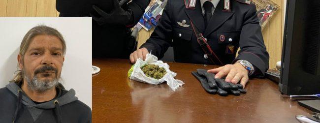 Rosolini| Deteneva droga in casa: arrestato un 4domi6enne