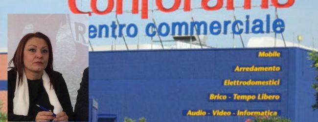 Melilli| Sciopero dei pulizieri della Csp al centro commerciale Conforama