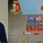Siracusa| Deteneva illegalmente in casa droga e materiale esplodente