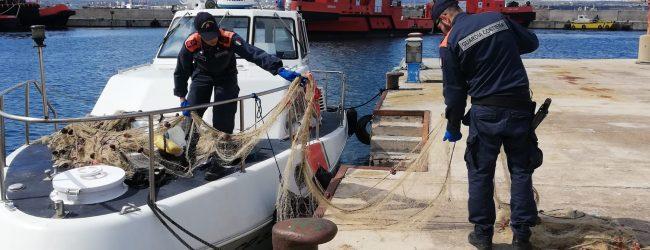 Augusta| Sequestro rete in porto dalla Guardia costiera a tutela della salute