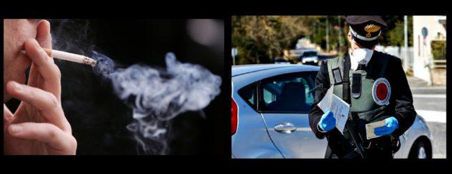 Augusta| Si annoiano in casa e passeggiano, fuma per strada ed è denuncia…per tutti